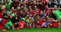 FÚTBOL-Bayern campeón de su quinta Champions
