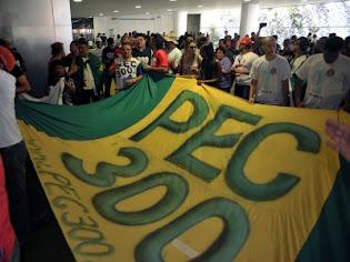 PMs E BMs NA LUTA PELA PEC 300 NO CONGRESSO NACIONAL