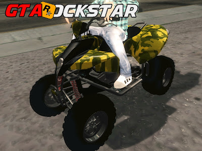 GTA SA – Quadriciclo ATV 50