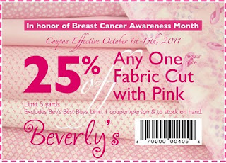 Beverly Fabrics & Crafts Coupon