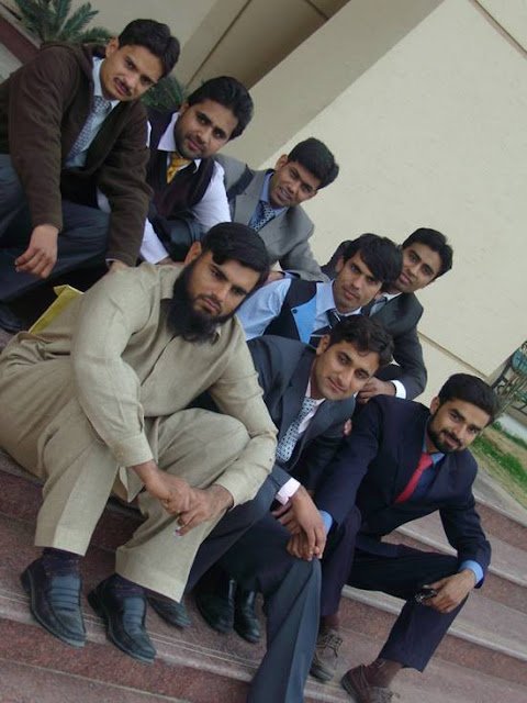 Students at University of Gujrat