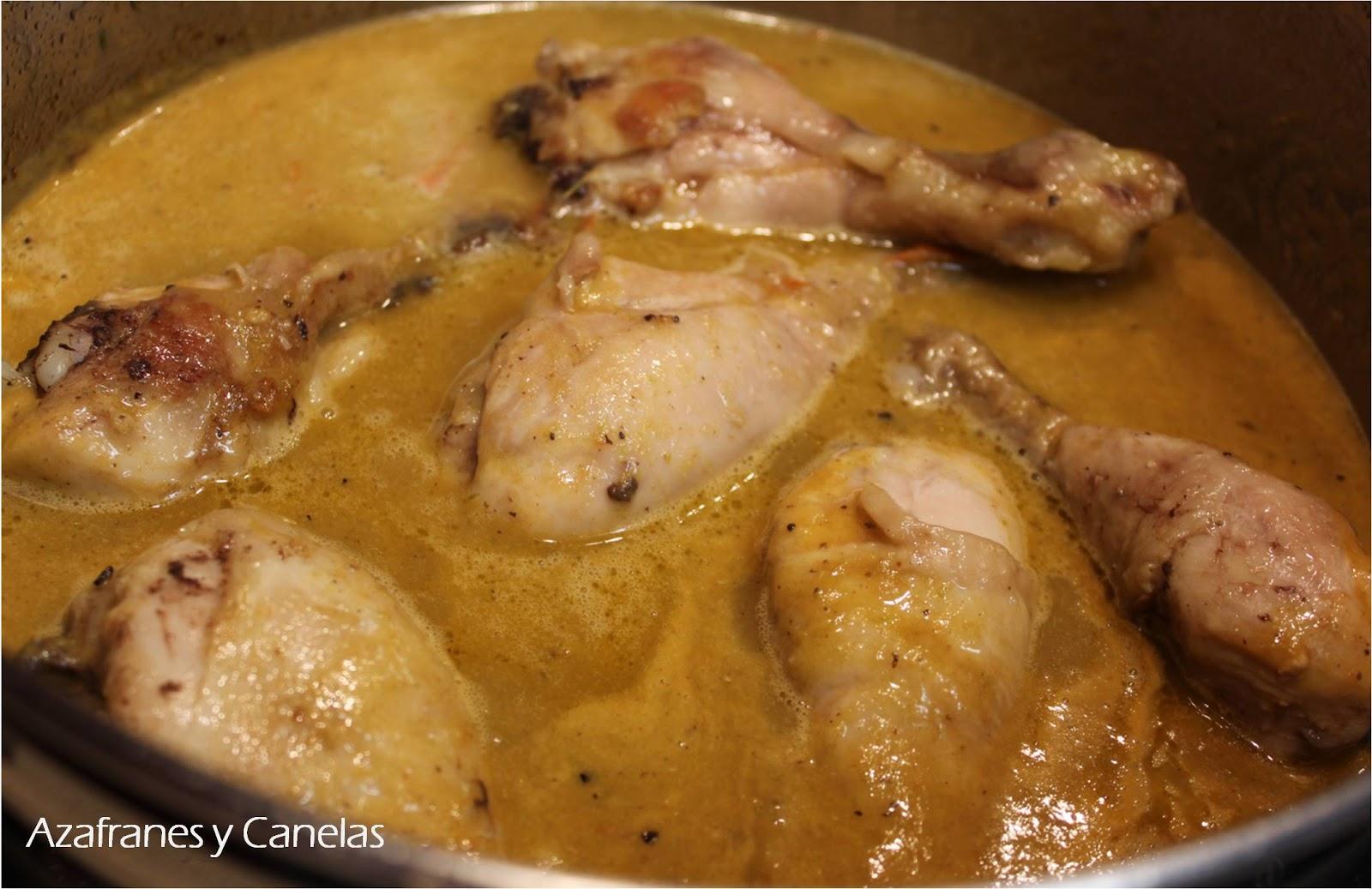 pollo en salsa celebrando nuestros dos a os contigo