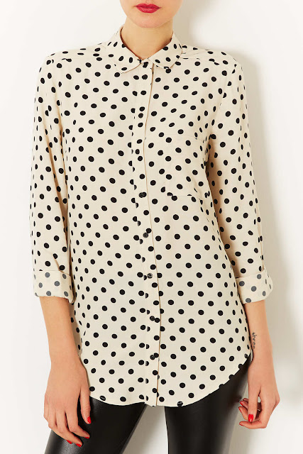 spotty shirt