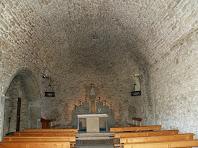 L'interior de l'ermita de La Damunt