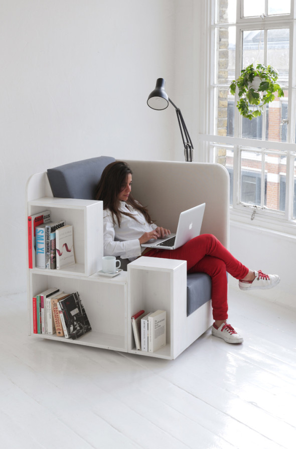 Open Book Library Chair