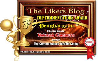 Award Dari Sahabat Nakusan