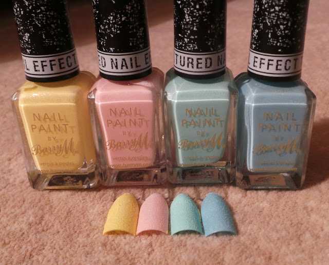 Barry M Textured Nail effects Picture ascottishlass.net