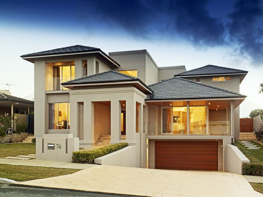 Beautiful home designing for Attractive house designs