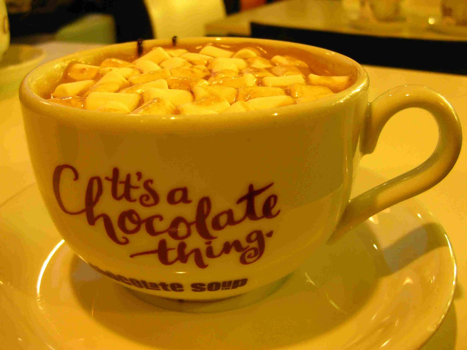 ... DRINK SLEEP SHOP: Starve off the cold with Chocolate Soup in Edinburgh