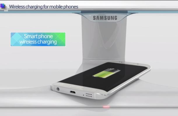 Samsung Telah Merancang Monitor yang Bisa Mengecas Handphone Secara Nirkabel