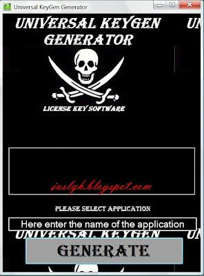 Universal Keygenerator 2013