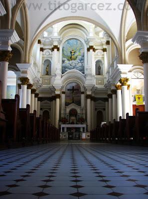 Interior da catedral de São Sebastião, em Ilhéus - Bahia - Por Tito Garcez
