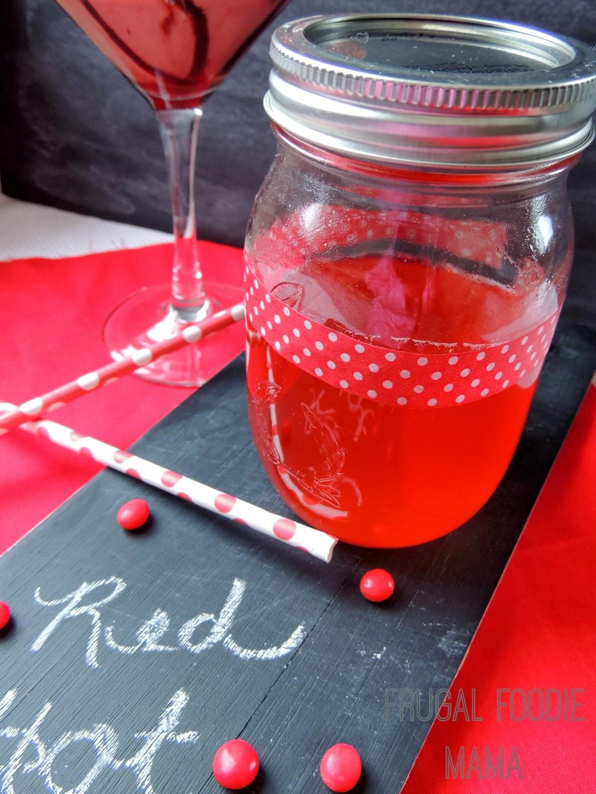 Red Hot Chocolate Martini