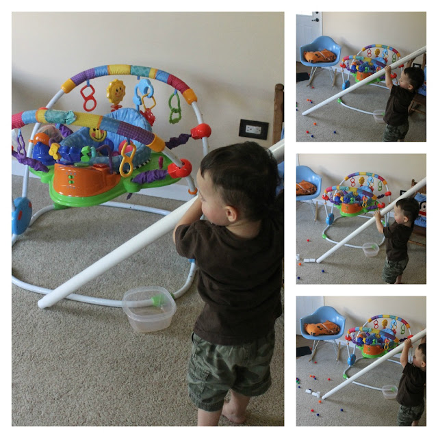 toddler, pvc, activity