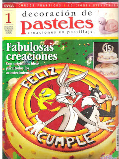 Revista : Decoración de Pasteles n.1