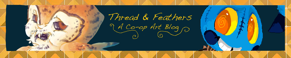 The Thread and Feathers Art Blog