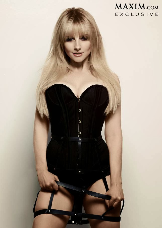 """Melissa Rauch """"Maxim"""" Magazine December 2013"""