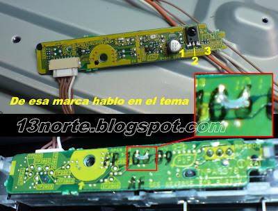 Receptor infrarrojo de Panasonic Viera TC-L32C3M