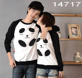 kaos couple lengan panjang
