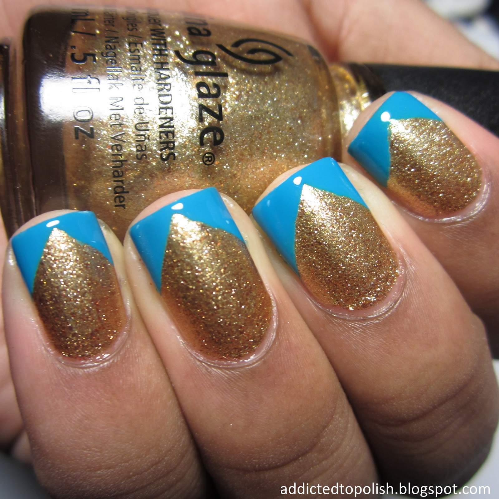 Addicted to Polish: Twinsie Tuesday - Celebrity Nail Recreation