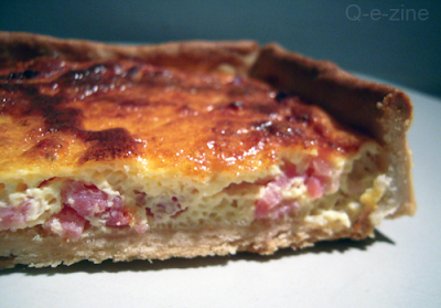 quiche lardons simple