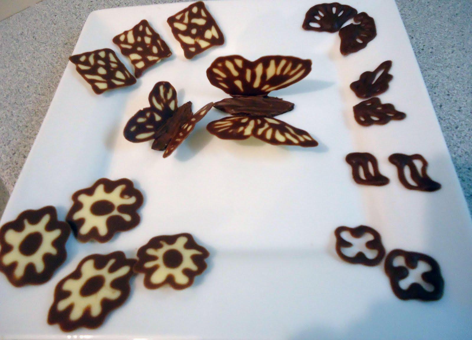 Decoration En Chocolat Technique Du Cornet : Minicuisine petits décors en chocolat
