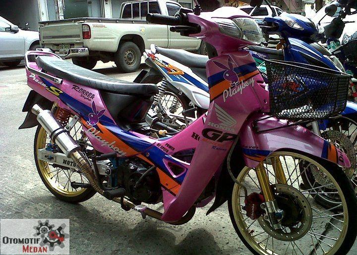 warah Honda GRAND MAcam Modif Handal title=