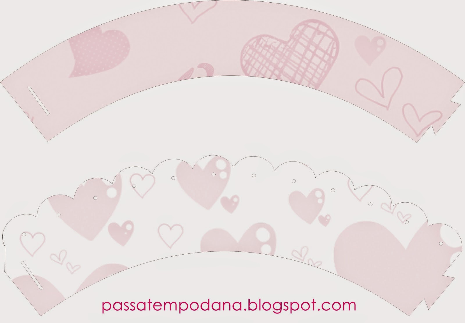 Free Printable Cupcake Wrappers.
