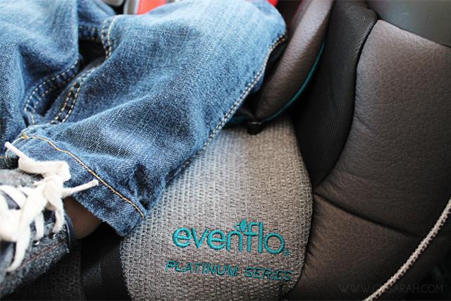 cinsarah levi 39 s new big boy car seat evenflo symphony dlx. Black Bedroom Furniture Sets. Home Design Ideas