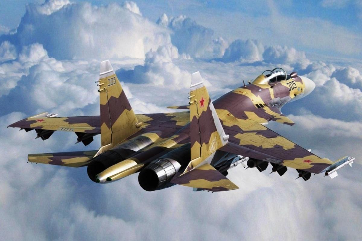 Sukhoi Su-37 Flanker-F (Foto 1)
