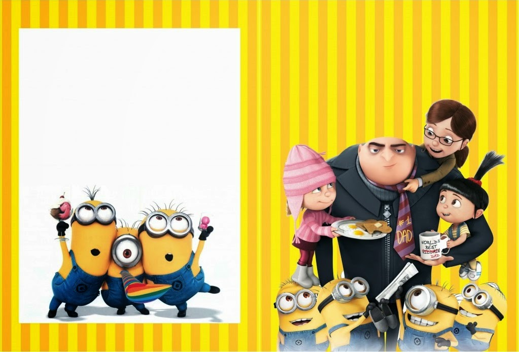 Despicable Me Free Printable Coloring Book Oh My Fiesta! in english