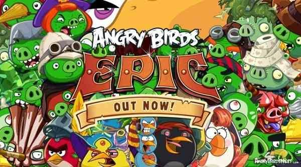 Rovio's Angry Birds Epic on all App Stores