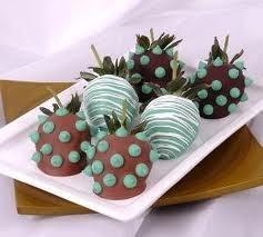 Receta Chocolate con Fresas