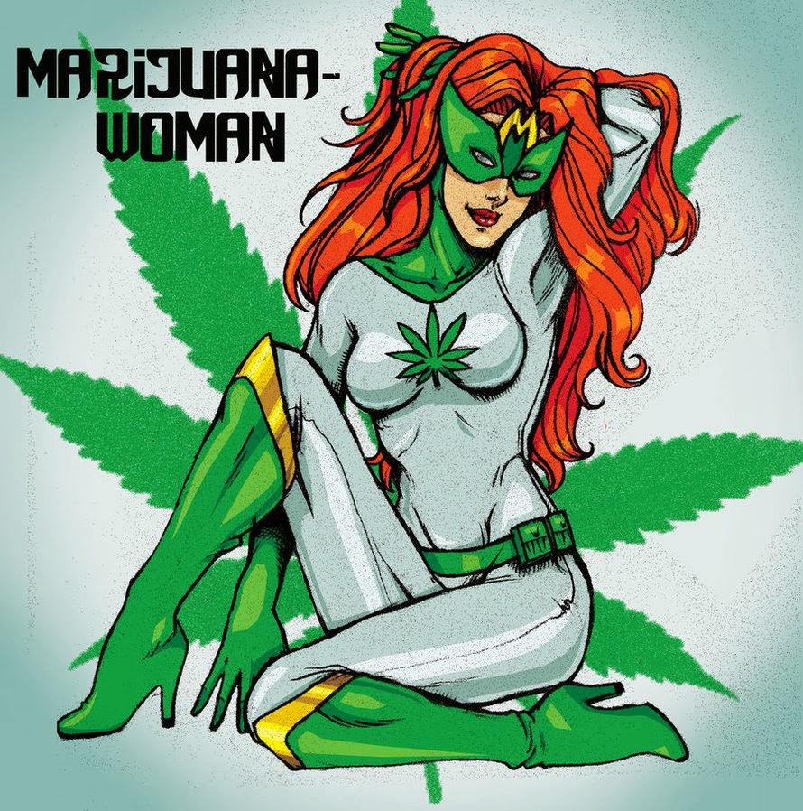 Marijuana Woman