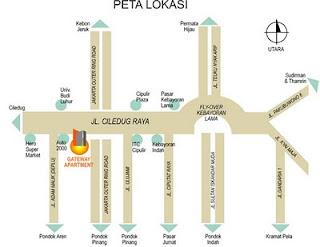 Sewa Harian Apartemen Gateway Jakarta Selatan