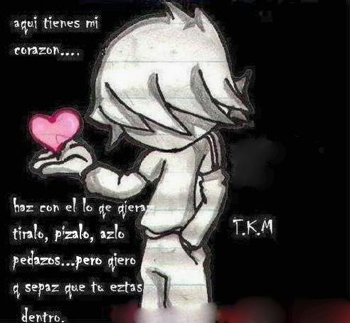 Gambar EMO Cinta Romantis Terbaik 2012