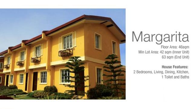 Margarita Two Storey Townhouse in Camella Carcar Cebu