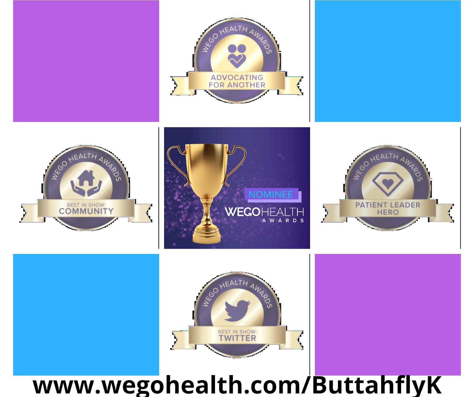 2020 WEGO Health Awards Nominee