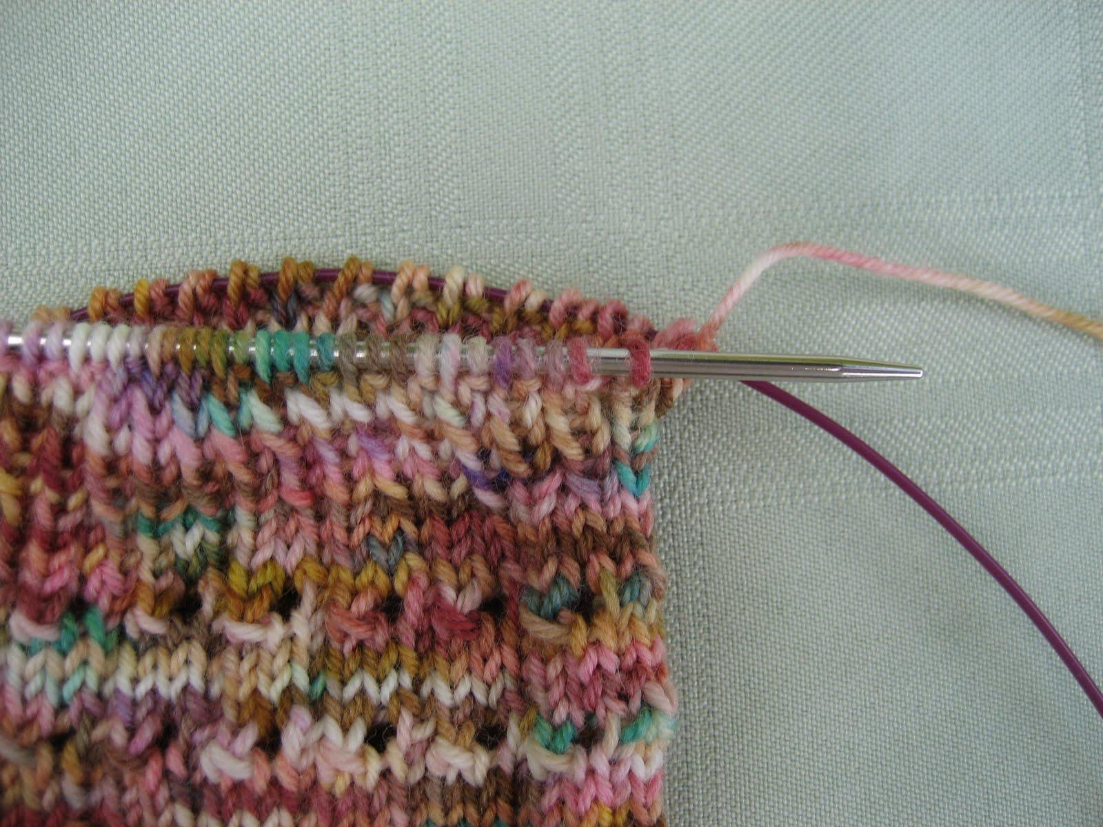 Kitchener Stitch With Knitting Needles : Kitchener Stitch Bind Off Knitty