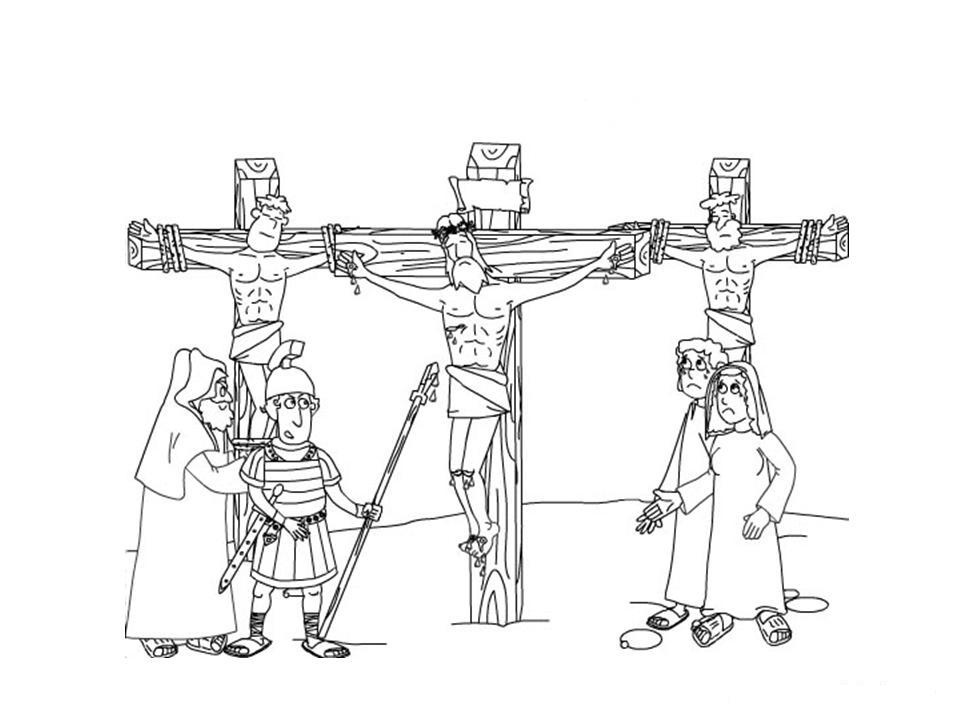 Crucifixion Coloring Pages Coloring Pages