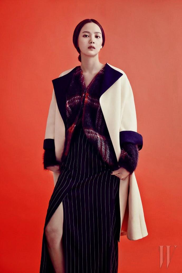 Yoon Seung Ah - W Magazine January Issue 2014