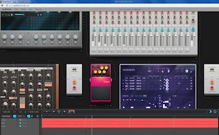 Membuat lagu secara online via internet