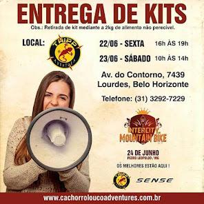 Fique ligado ENTREGA DE KITS NA TRIPP AVENTURA