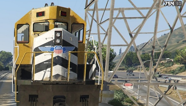 MOD Union Pacific Livery for Freight Train