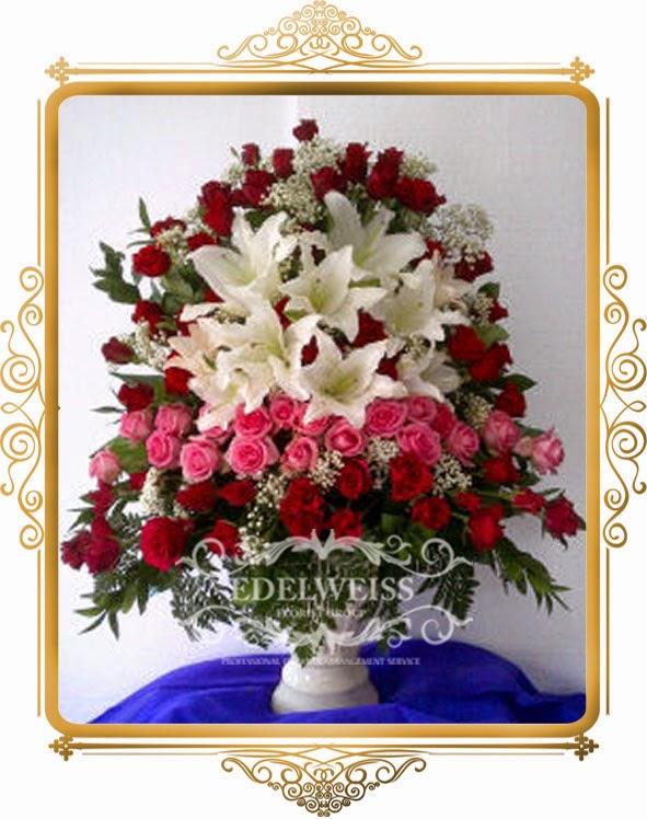 bunga ucapan selamat pembukaan & peresmian