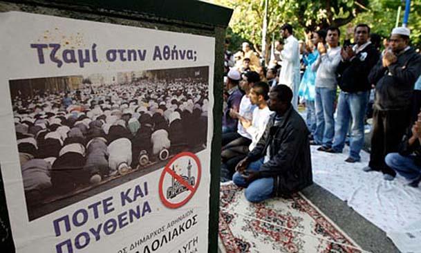 Ισλαμαμπάντ η η Αθήνα: Ξεκινά το τζαμί στον Βοτανικό η ΝΔ!