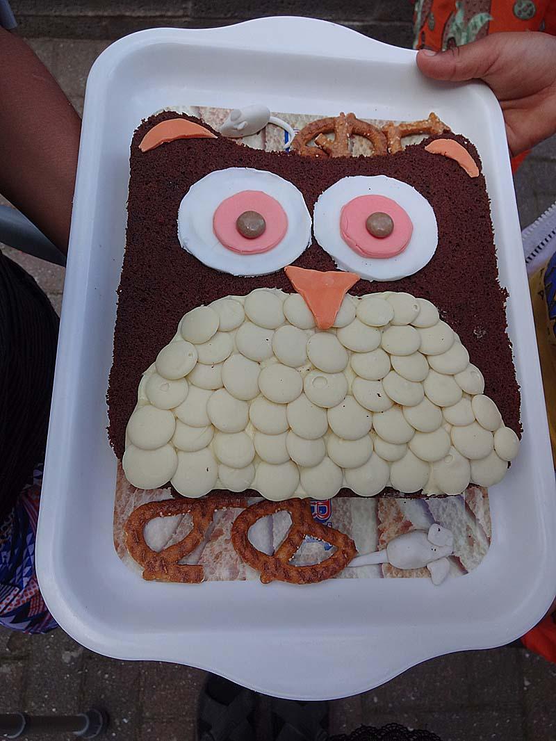 A2K A Seasonal Veg Table It really is a easy Owl Cake to make