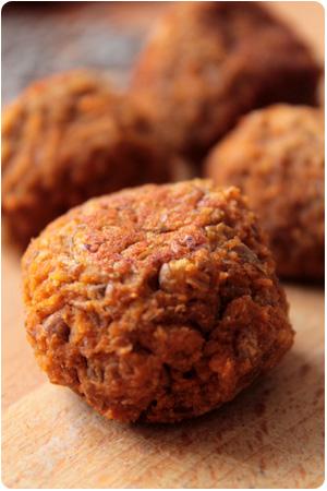 Fake Meatballs - vegane Hackfleischbällchen