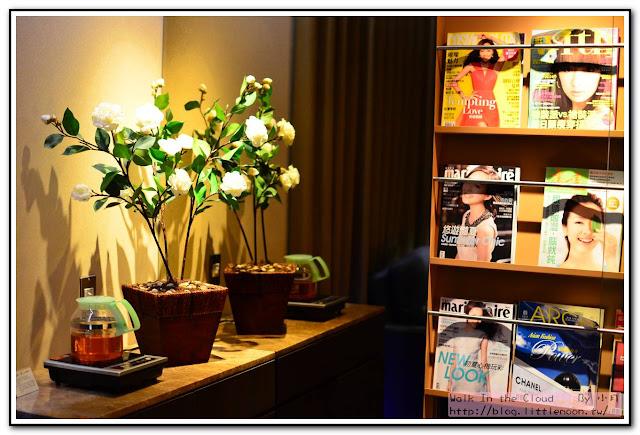 雜誌與花茶