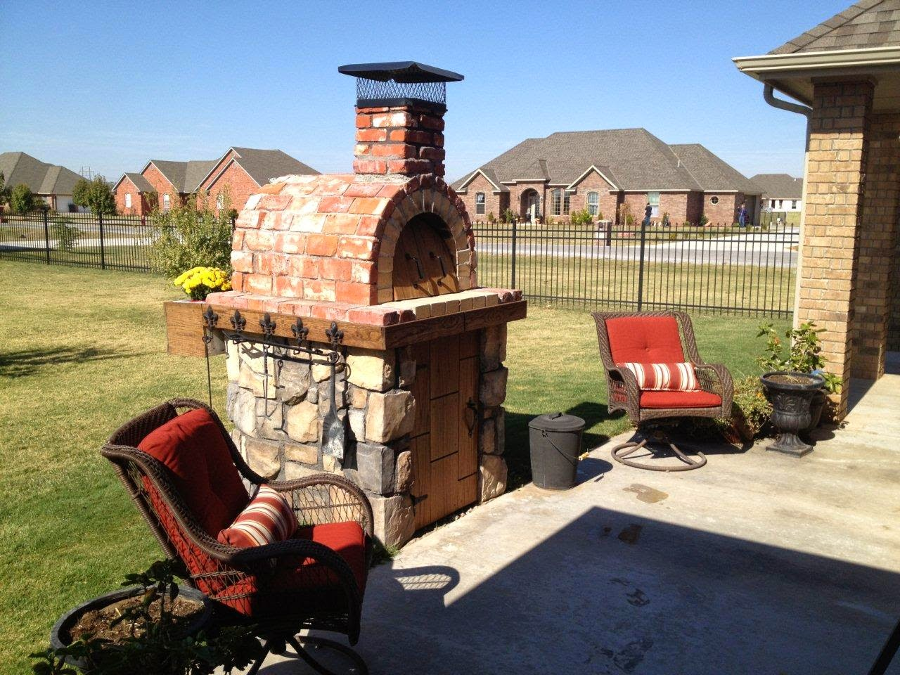 Mediterranean wood fired pizza oven - The Most Liked Wood Fired Brick Ovens On Brickwoodovens Com The Moon